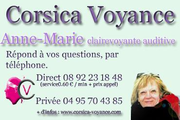 Anne-Marie clairevoyante
