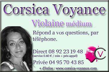Violaine médium