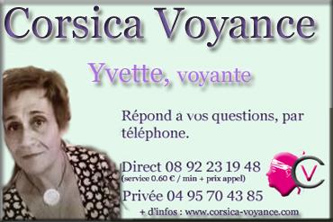 Yvette, voyante